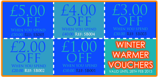 WINTER WARMER VOUCHERS